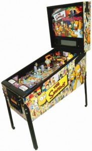 Stern flipperspill the Simpsons pinball party
